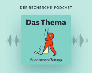 Logo des SZ-Podcasts Das Thema